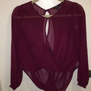 Blouse (high low) XOXO